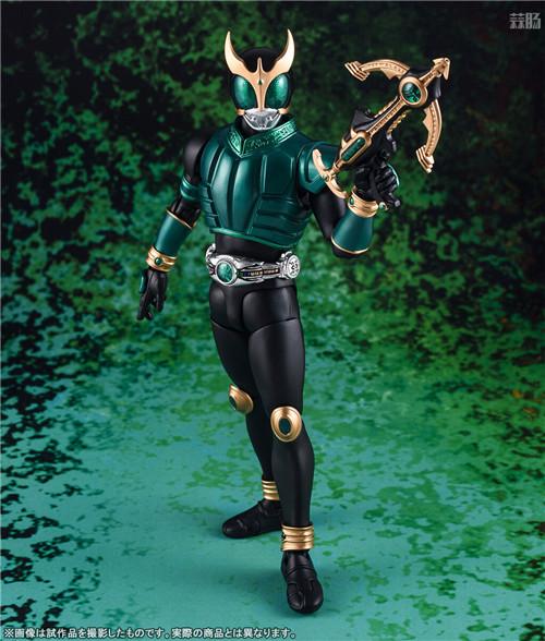 万代公开SHF真骨雕假面骑士空无青龙与天马形态可动人偶 模玩 第5张