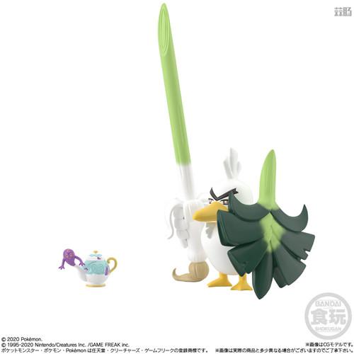 万代推出宝可梦比例世界伽勒尔地区第二弹 玛俐在列 模玩 第2张