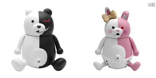PLM推出《弹丸论破1+2》黑白熊与黑白美公仔 模玩 第1张