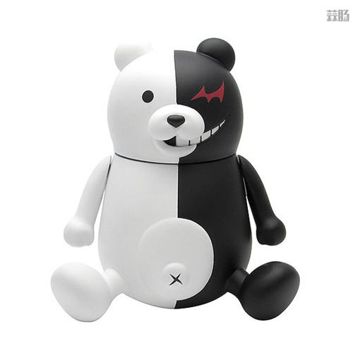 PLM推出《弹丸论破1+2》黑白熊与黑白美公仔 模玩 第2张