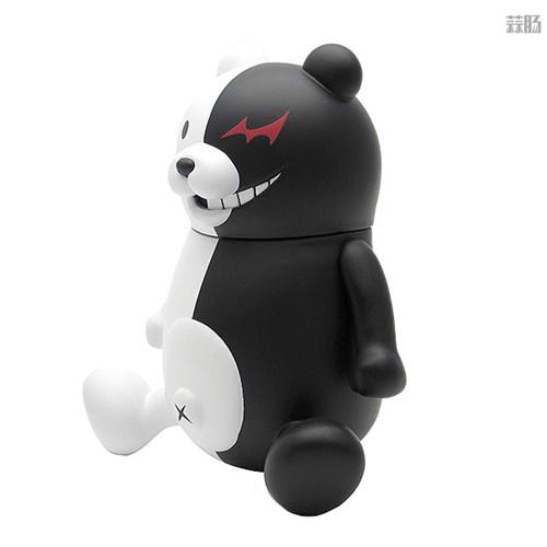 PLM推出《弹丸论破1+2》黑白熊与黑白美公仔 模玩 第5张