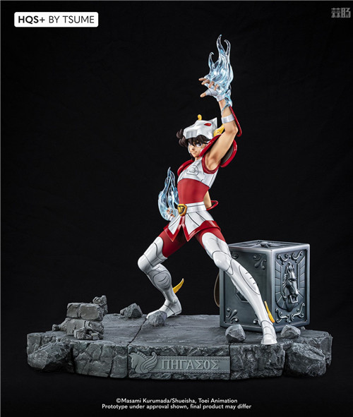 卢森堡雕像厂商推出《圣斗士》星矢1/4雕像 全球限量1800个 模玩 第4张