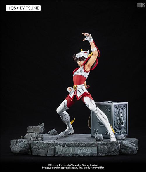 卢森堡雕像厂商推出《圣斗士》星矢1/4雕像 全球限量1800个 模玩 第3张