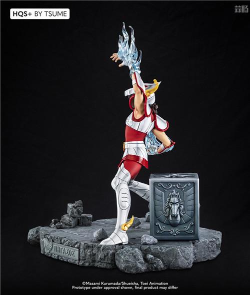 卢森堡雕像厂商推出《圣斗士》星矢1/4雕像 全球限量1800个 模玩 第6张