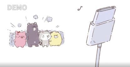 天雷动漫新项目《手机里的浣熊小镇》动漫节期间定档B站