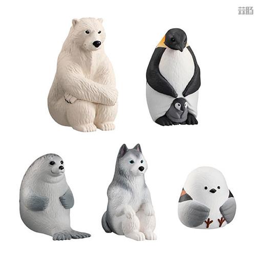 万代推出等待中的动物扭蛋第四弹 放空北极熊在列 模玩 第2张