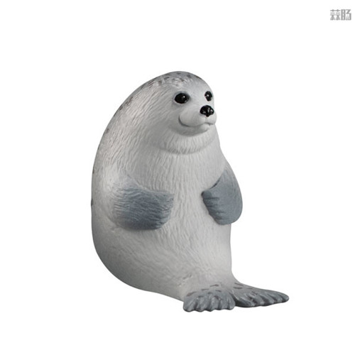 万代推出等待中的动物扭蛋第四弹 放空北极熊在列 模玩 第5张