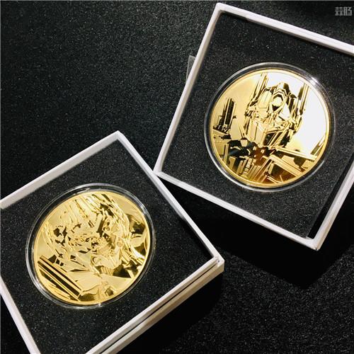 P1S推出《变形金刚》电影版擎天柱与威震天纪念金币等大量周边 变形金刚 第1张