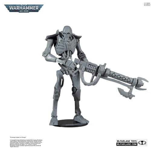 麦克法兰推出《战锤40K》死灵武士可动模型未涂装版 可动模型 死灵武士 太空死灵 战锤40K 麦克法兰 模玩  第1张