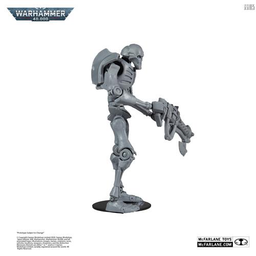 麦克法兰推出《战锤40K》死灵武士可动模型未涂装版 可动模型 死灵武士 太空死灵 战锤40K 麦克法兰 模玩  第2张