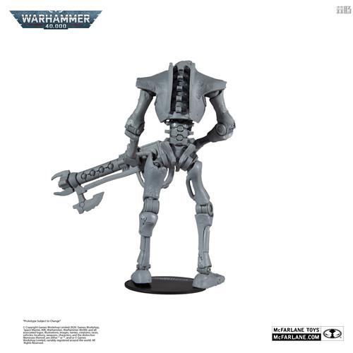 麦克法兰推出《战锤40K》死灵武士可动模型未涂装版 可动模型 死灵武士 太空死灵 战锤40K 麦克法兰 模玩  第4张
