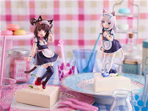 PLUM推出《猫娘乐园》巧克力与香子兰小猫风1/7手办