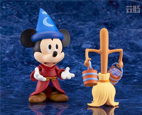 良笑社推出米奇幻想曲版粘土人 幻想曲 米奇 迪士尼 1503 GSC 良笑社 模玩  第4张
