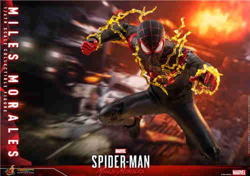 HT推出《漫威蜘蛛侠:迈尔斯•莫拉莱斯》迈尔斯•莫拉莱斯人偶