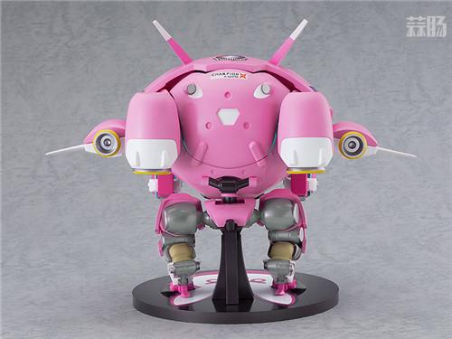 良笑社推出《守望先锋》MEKA机甲 可搭载D.Va粘土人 MEKA 机甲 守望先锋 GSC 良笑社 模玩  第3张