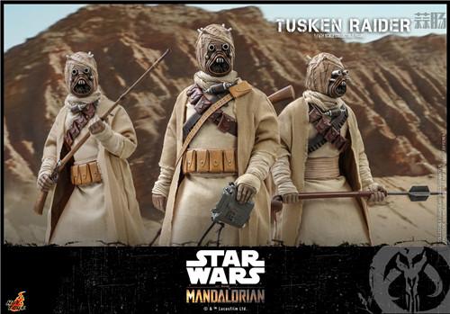 Hot Toys推出《曼达洛人》塔斯肯袭击者1:6比例珍藏人偶 塔斯肯袭击者 曼达洛人 星球大战 HT HotToys 模玩  第3张