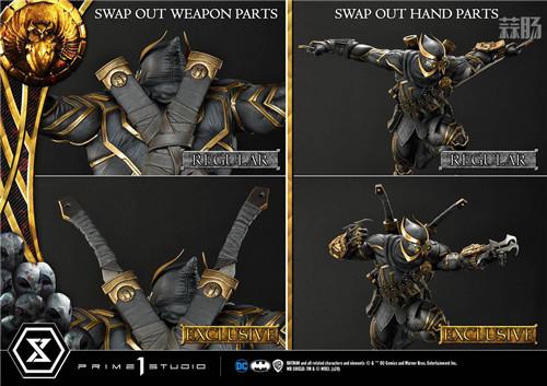 P1S推出《蝙蝠侠》利爪1/3大比例雕像 利爪 猫头鹰法庭 蝙蝠侠 DC漫画 P1S 模玩  第7张