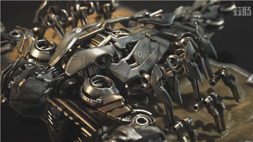 P1S公开《变形金刚》电影系列钢索,眩晕与萨克蝎子 萨克蝎子 眩晕 钢索 变形金刚 P1S Prime1Studio 变形金刚  第12张