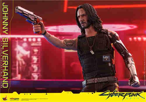 Hot Toys发布《赛博朋克2077》强尼•银手1:6比例珍藏人偶