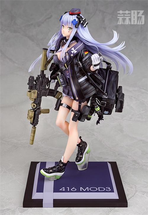 Phat!推出《少女前线》HK416 MOD3重创版1/7手办 HK416 少女前线 Phat! 模玩  第1张