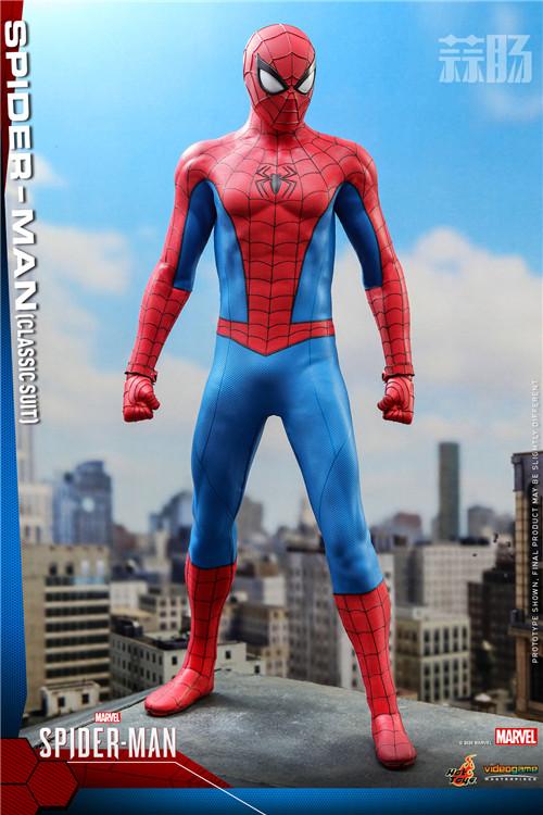 Hot Toys推出《漫威蜘蛛侠》蜘蛛侠 (经典战衣) 1:6比例珍藏人偶 蜘蛛侠 PS4 漫威蜘蛛侠 HT Hot Toys 模玩  第4张