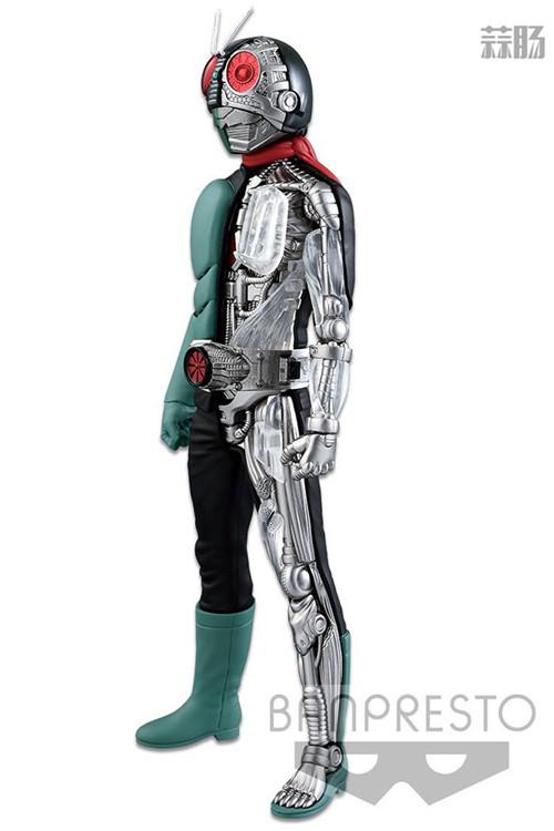 眼镜厂宣布推出半剖系列《假面骑士》假面骑士1号樱岛版景品 假面骑士1号 假面骑士 Internal Structur 眼镜厂 Banpresto 万代 模玩  第2张