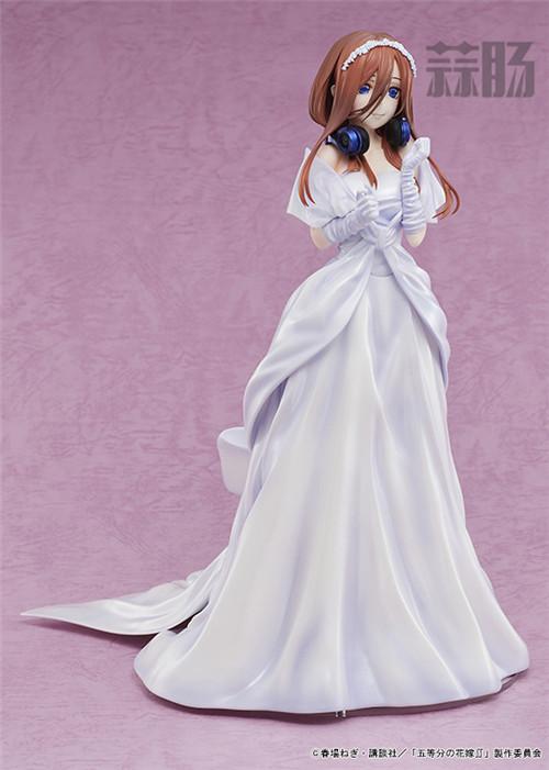 AMAKUNI推出《五等分的花嫁》中野三玖婚纱版1/7手办 中野三玖 五等分的花嫁 AMAKUNI 模玩  第2张