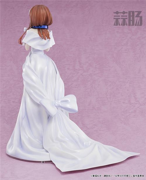 AMAKUNI推出《五等分的花嫁》中野三玖婚纱版1/7手办 中野三玖 五等分的花嫁 AMAKUNI 模玩  第5张