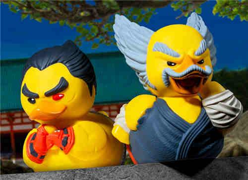 Numskull推出《铁拳》三岛平八与三岛一八小黄鸭