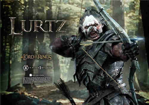 Prime 1 Studio推出《指环王1》强兽人鲁尔兹1/4雕像