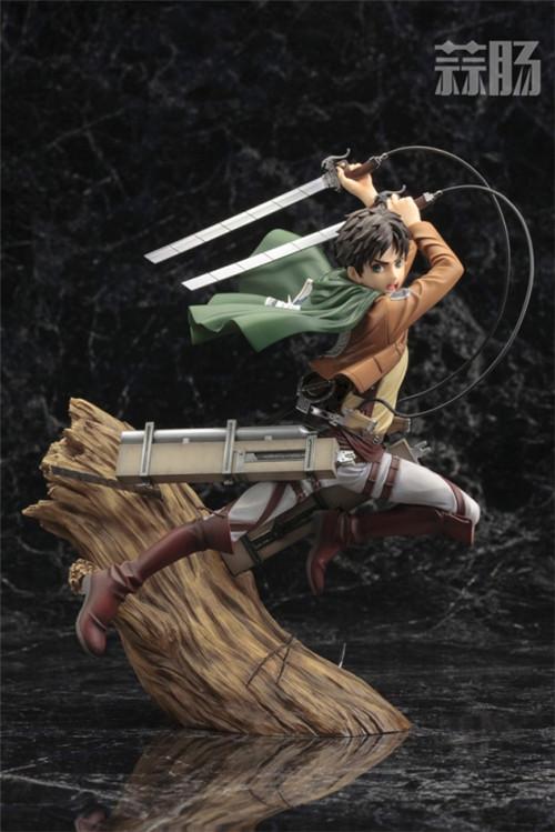 寿屋推出ARTFXJ《进击的巨人》艾伦1/8手办 艾伦 进击的巨人 ARTFXJ 寿屋 模玩  第4张