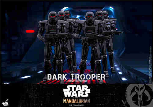 Hot Toys推出《曼达洛人》第二季黑暗士兵1:6比例珍藏人偶