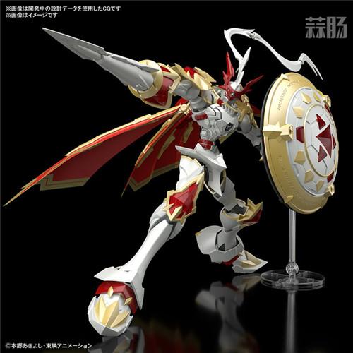 万代推出Figure rise Standard Amplified红莲骑士兽 红莲骑士兽 数码宝贝 Figure rise Standard Amplified 万代 模玩  第3张