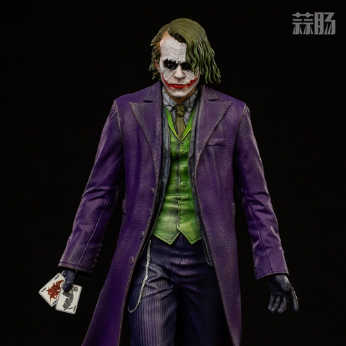 Iron Studios:1/10《蝙蝠侠:黑暗骑士》  The Joker 小丑 雕像 Iron Studios 黑暗骑士 蝙蝠侠 模玩  第1张