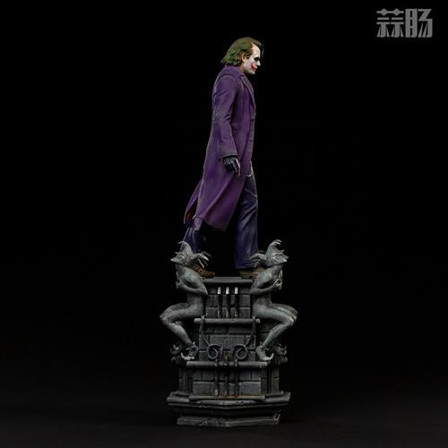 Iron Studios:1/10《蝙蝠侠:黑暗骑士》  The Joker 小丑 雕像 Iron Studios 黑暗骑士 蝙蝠侠 模玩  第3张