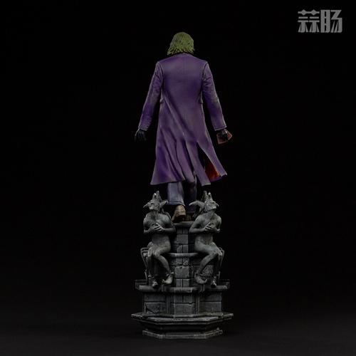 Iron Studios:1/10《蝙蝠侠:黑暗骑士》  The Joker 小丑 雕像 Iron Studios 黑暗骑士 蝙蝠侠 模玩  第4张