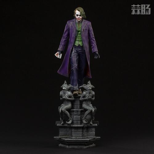 Iron Studios:1/10《蝙蝠侠:黑暗骑士》  The Joker 小丑 雕像 Iron Studios 黑暗骑士 蝙蝠侠 模玩  第2张