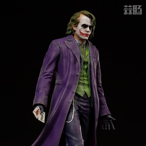 Iron Studios:1/10《蝙蝠侠:黑暗骑士》  The Joker 小丑 雕像 Iron Studios 黑暗骑士 蝙蝠侠 模玩  第5张