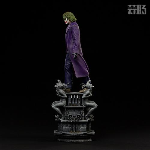 Iron Studios:1/10《蝙蝠侠:黑暗骑士》  The Joker 小丑 雕像 Iron Studios 黑暗骑士 蝙蝠侠 模玩  第6张